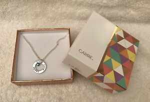 Carrie Elspeth Live, Love , Laugh Necklace (BNIB)