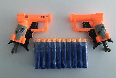 Nerf Jolt x2 Bundle Plus 20 Darts/Bullets