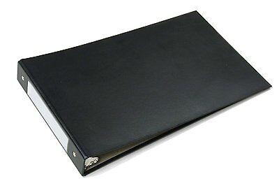 36-pack - Skilcraft 3 Ring Binder Legal Ledger Black Book For 8.5 X 14 Paper New