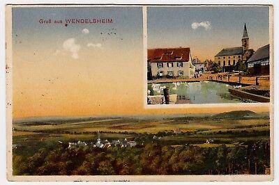 WENDELSHEIM OA Rottenburg / Kirche * AK um 1910