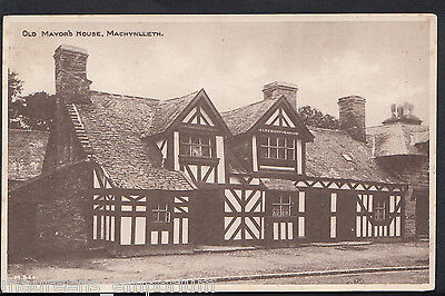 Wales Postcard - Old Mayor's House, Machynlleth    A6779