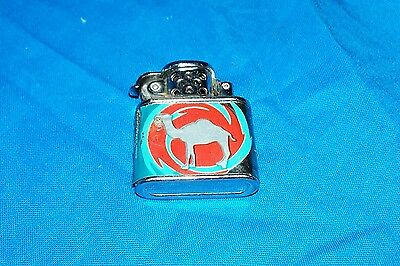 Old Camel Cigarette Lighter Vintage Tobacco Collectible Collectors Cigarettes