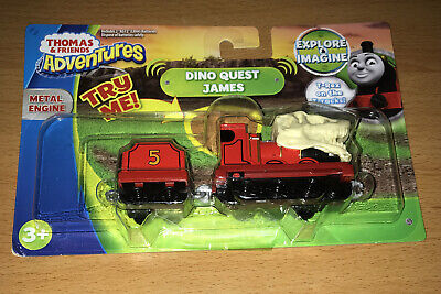 2018 Thomas & Friends Adventures Dino Quest James Talking Metal Engine
