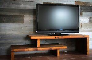 meuble tv modulable en vritable bois de grange - Meuble Tv Bois De Grange