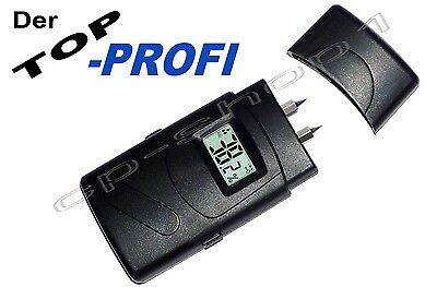 PROFI-Feuchtigkeitsmessgerät - Feuchtemesser für Feuchtemessung in Holz & Wand