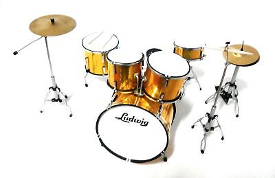 Ludwig Drum Set - Batteria in Miniatura - Miniature Drum Set -...
