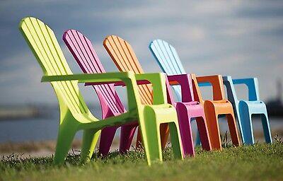 sedia poltrona giardino polipropilene piscina mare spiaggia AZZURRA