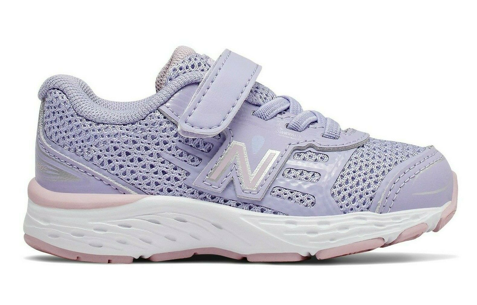 Sneakers Toddlers New Balance Girls Lilac Non-Tie New  Size