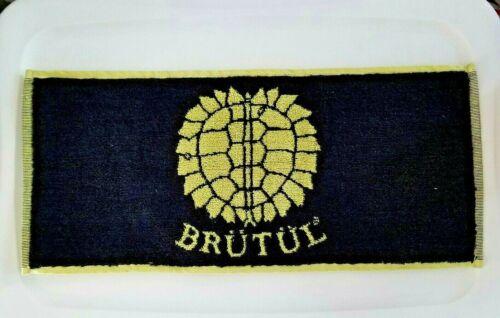 """Brutul Turtle Beer Advertising Bar Towel 20"""" x 9"""" NOS"""