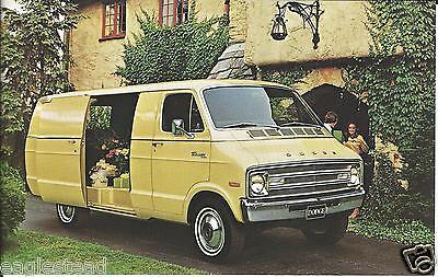 Truck Postcard - Dodge Tradesman Van