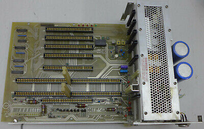 Wiltron 6637 Backplane And Power Supply