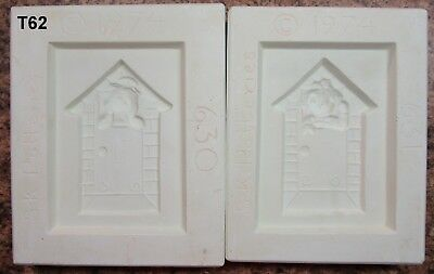 Used, SK Potteries #630 &631 Raggedy ANN & Andy Switch Plate Cover Ceramic Molds (T62) for sale  Tracy City