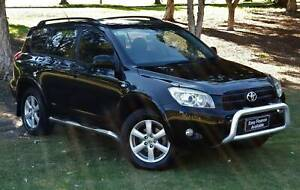 2007 Toyota RAV4 ACA33R Cruiser BLACK 4 Speed Automatic Wagon Welshpool Canning Area Preview