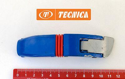 Silber Schnalle Stiefel (TECNICA Ersatz-Schnalle für Skistiefel TC1 Blau-Silber (mittel)       ERSATZTEIL)