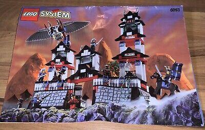 Vintage 1998 Lego Set #6093 Flying Ninja Fortress: 100% complete No Box