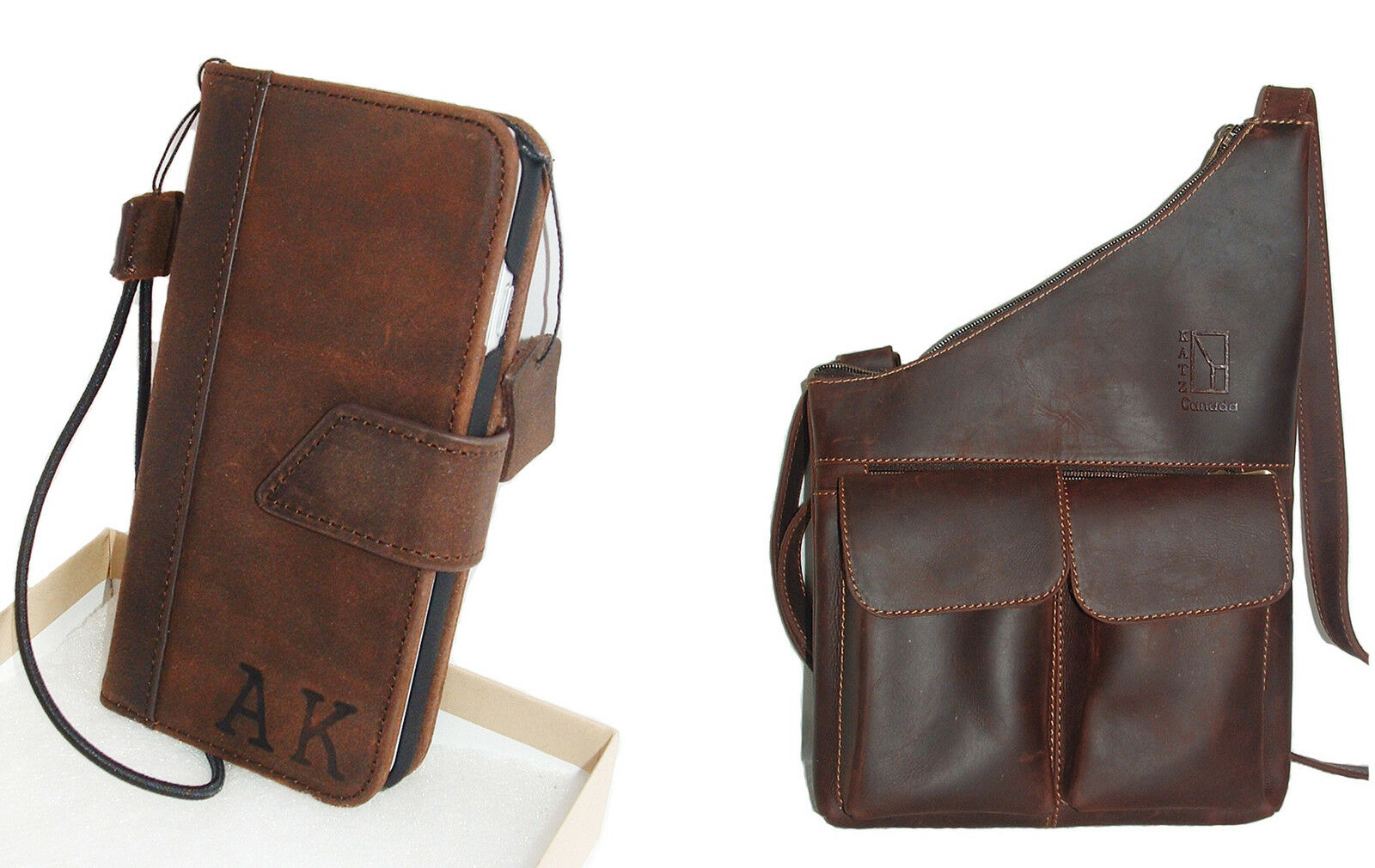 Personalized Genuine Leather Bags