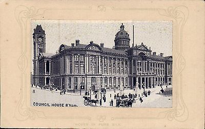 Woven Silk. Council House, Birmingham by W.H.Grant.