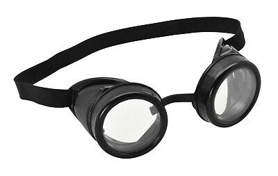 Steampunk Pilot Brille Flieger Kostüm Brille Minion Biggles Kostüm - Minion Brille Kostüm