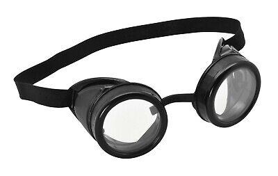 Steampunk Pilot Goggles Aviator Costume Glasses Minion Biggles Fancy Dress - Kostüm Aviator Goggles