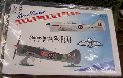 Hawker Tempest Storm in the Sky Part VI 1/48 Aeromaster 48-329