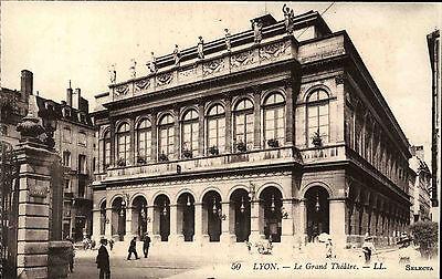Lyon France Rhône-Alpes ~1910 Le Grand Théâtre Theater Theatre Verlag Selecta