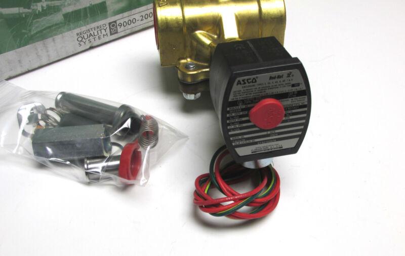 * NIB.. ASCO Red Hat II Solenoid Control Valve Cat# EF8210G014  ... UJ-71