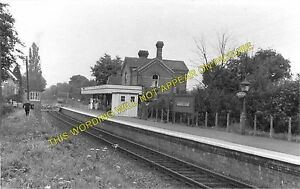 Grange Road Railway Station Photo. Rowfant - East Grinstead. LB&SCR