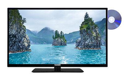 Telefunken XF32E411D 32 Zoll Fernseher Full HD Smart TV Triple Tuner DVD-Player