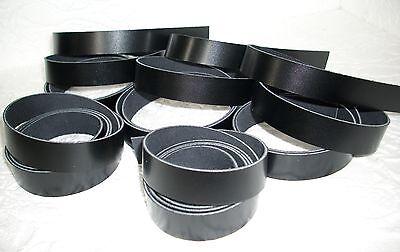 5 Lederriemen schwarz  ***1,20 m lang  2 cm bereit ***