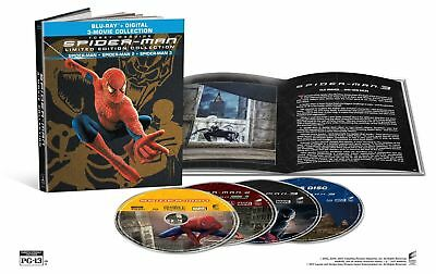 Spider Man Origins Collection  Spider Man 1 2 3  Blu Ray Disc  2017  4 Disc Set