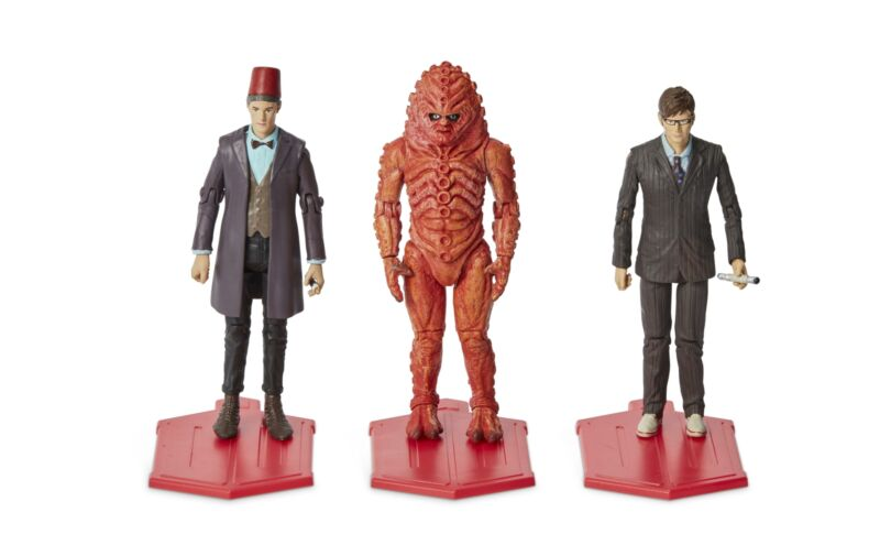 """Doctor Who 3.75"""" Day of the Doctor Action Figure 3-Pack"""