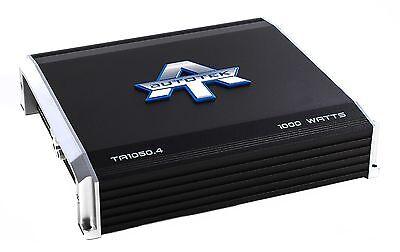 Autotek 4 Channel 1000 Watt Amp Car Audio Class A/B Power Amplifier | TA1050.4