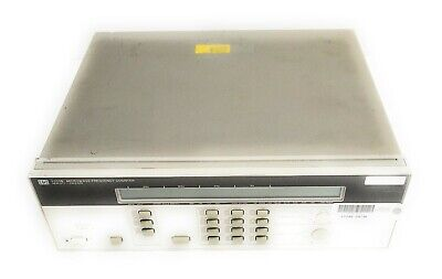 Hp 5350b Microwave Frequency Counter 10hz To 20ghz W Rear Inputs Oven Time Base
