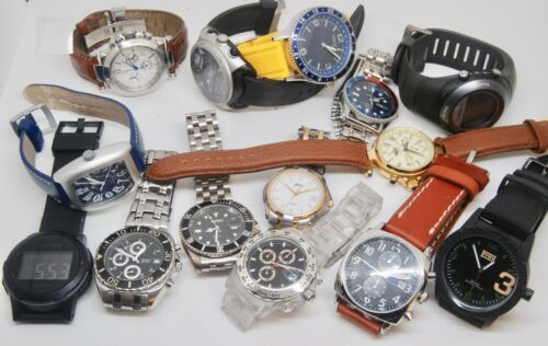 14 watches mixed lot