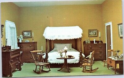 Lyman Allyn Museum Child's bedroom 19th century doll house New London CT  for sale  Buffalo Grove