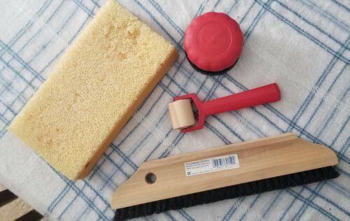 Wallpaper Remover Installation Tools Smoother Brush Sponge Seam Roller Scraper