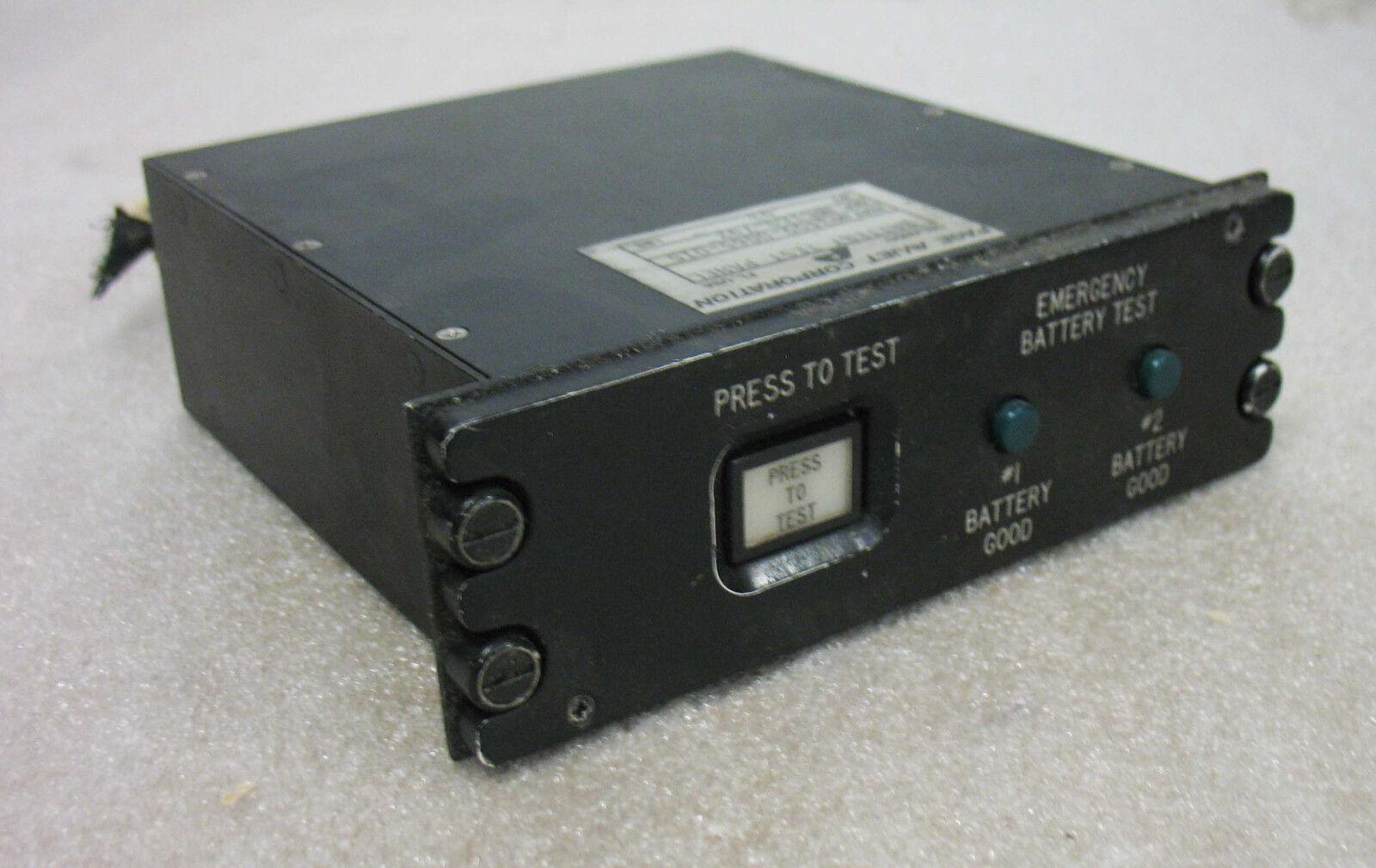 Battery Test Panel  p/n 3409-0065-015