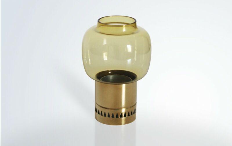 Original Vintage Mid-century Candle Holder by Hans-Agne Jakobsson