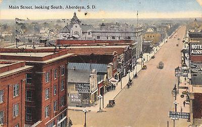 Aberdeen South Dakota Main Street Strauss Clothing House Roan Real Estate 1912