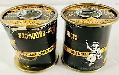 Vintage Dutch Boy Solid Wire 5050 Solder 2 Lb Products Metals Casting Alloys To