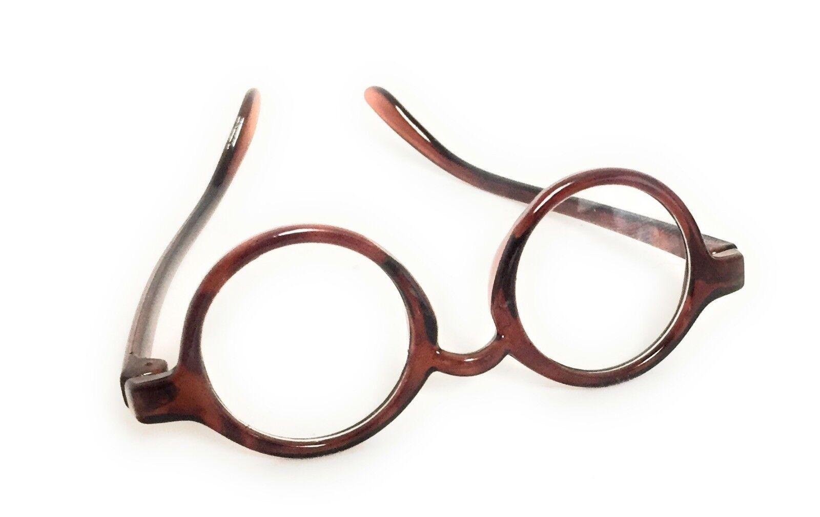"""Brown Tortoise Eye Glasses made for 18"""" American Girl Doll C"""