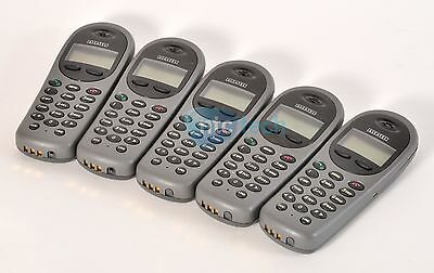 Lot Of 5 Alcatel Mobile Iptouch 300 Snp2400 Phone - 3 Batteries
