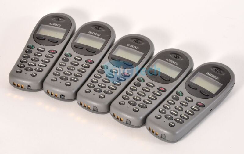 LOT OF 5: Alcatel Mobile IPTouch 300 SNP2400 Phone - 3 Batteries