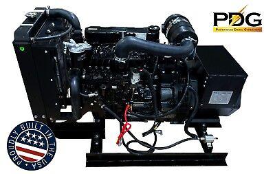 20 Kw Diesel Generator Mitsubishi 3yr3000hr Warranty Emergency Standby Genset