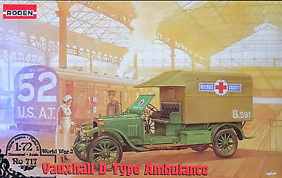 RODEN® 717 WWII Vauxhall D-Type Ambulance in 1:72