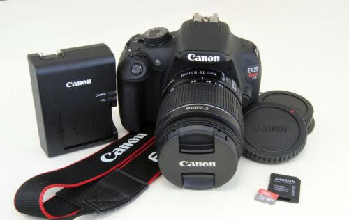 Canon EOS Rebel T5 1200D 18.0MP DSLR Digital Camera Kit w/18-55mm IS II Lens