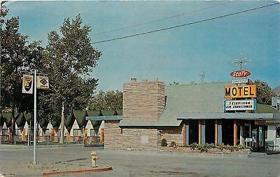 Winnemucca Nevada~Scott Shady Court~Roadside Motel Cottages~1950s