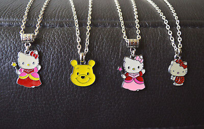 Hello Kitty Kinderkette Anhänger mit Kette Weihnachts Geschenk 4 Varianten Neu Hello Kitty Weihnachten