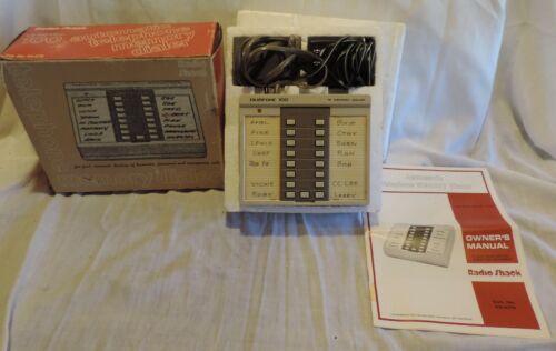 Radio Shack DUOFONE 100 Automatic Telephone Memory Dialer