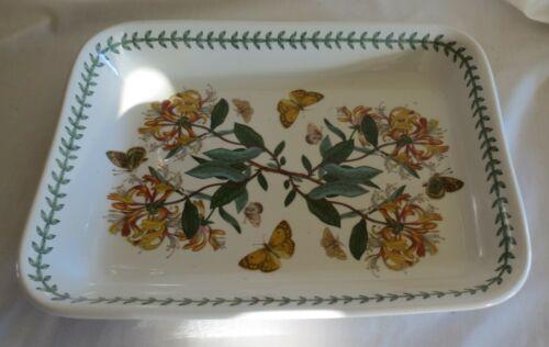 "Portmeirion Botanic Garden Honeysuckle 14 ½"" x 10 ¾"" Lasagna Dish"